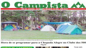 """Edição de 09/2016 do Jornal """"O Campista"""" do CCB"""