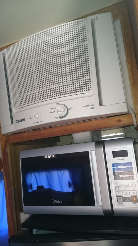 microondas 110v e ar condicionado 220v