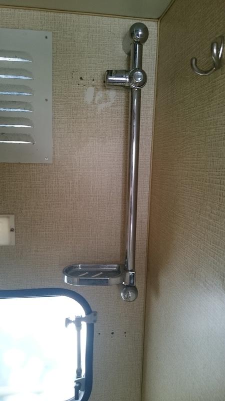 suporte do chuveiro