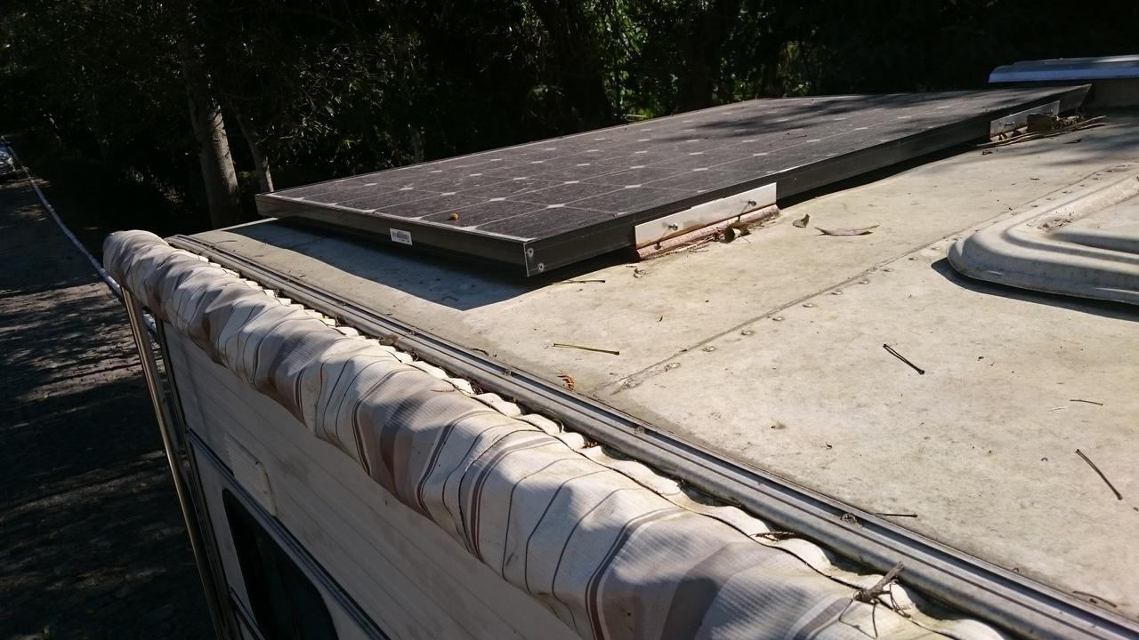 Placa solar de 240W