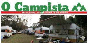 """Edição de 10/2016 do Jornal """"O Campista"""" do CCB"""