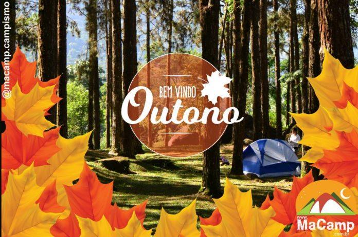 Outono acampando-macamp