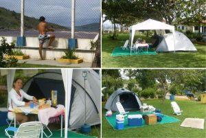 Acampada em Cabo Frio e Guaraparí de 2008