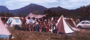 Fotos Antigas do Primeiro Acampamento