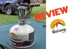Review: Fogareiro Mini Compact Guepardo