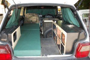 Fiat Uno Transformado em Mini Motor Home Para Viajar a África.
