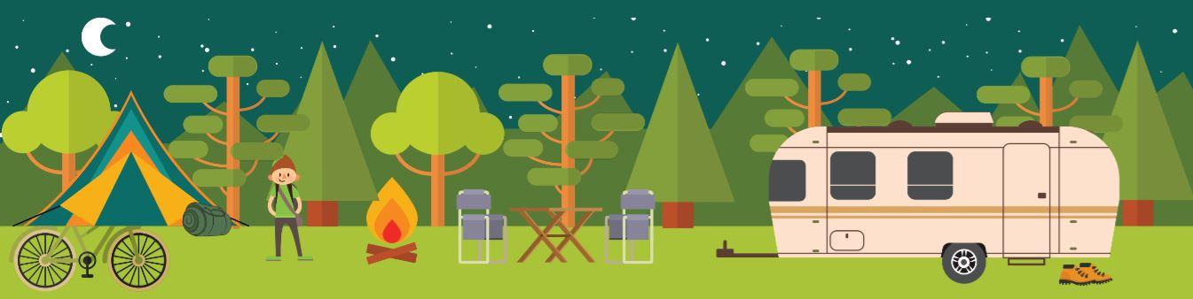 Camping_desenho-noite