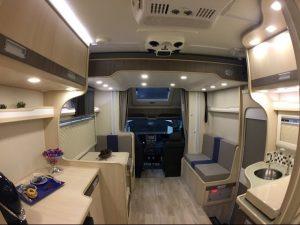 Motorhome com cama suspensa – MTB 720X