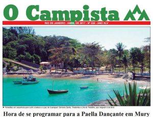 """Edição de 04/2017 do Jornal """"O Campista"""" do CCB"""
