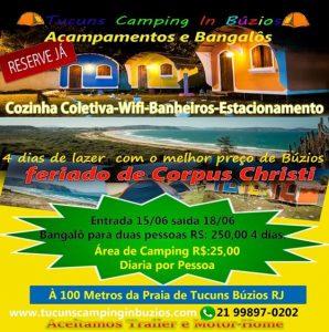 Corpus Christi no Camping Tucuns – Búzios-RJ