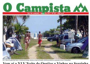 """Edição de 05/2017 do Jornal """"O Campista"""" do CCB"""