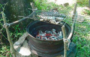 camping churrasco