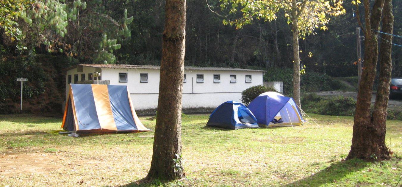 barracas acampando
