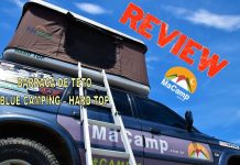 Barraca de Teto Hard Top Blue Camping - Review MaCamp - imagem