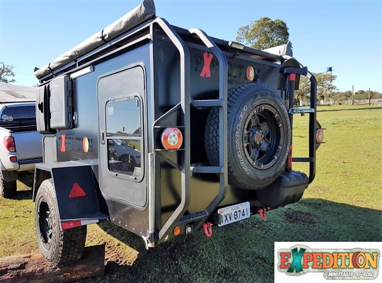 Expedition Mini Trailer camping 10