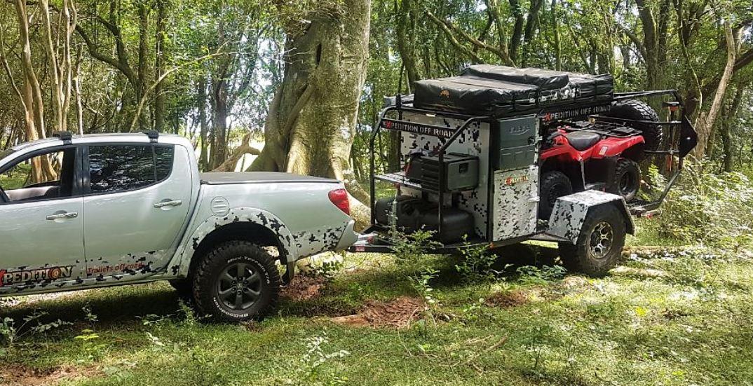 Expedition Mini Trailer cargo 4