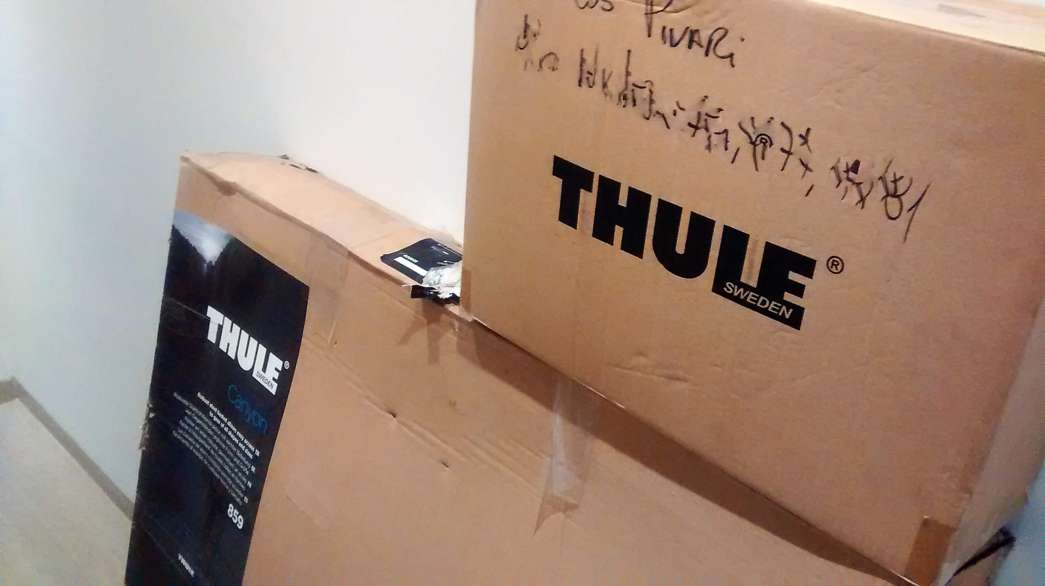Entrega Bagageiro Thule MaCamp