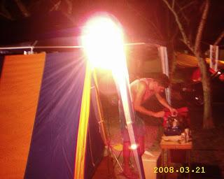 viagens de camping