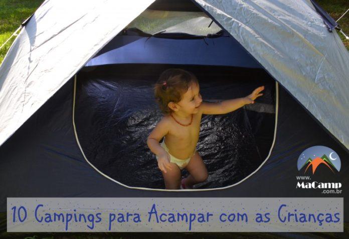 10 Campings Para Acampar Com as Crianças
