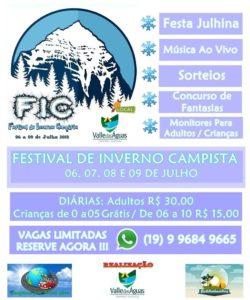 FIC - Festival de INVERNO Campista