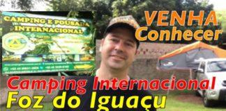 Video do Camping Internacional de Foz do Iguaçú -Coluna do Élcio