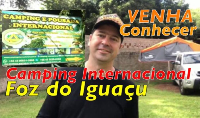 Video do Camping Internacional de Foz do Iguaçú -Coluna do Élcio