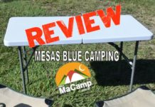 review mesa blue camping