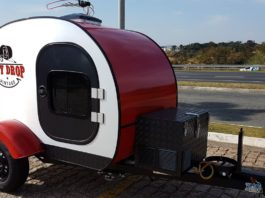 fly drop mini trailer