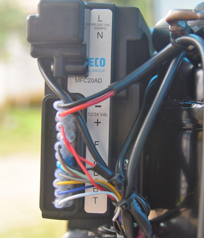 Conectores da controladora