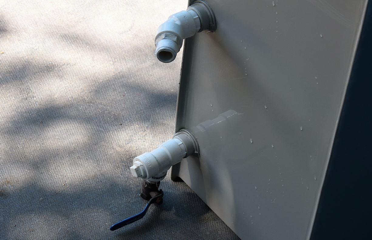 Conexões instaladas