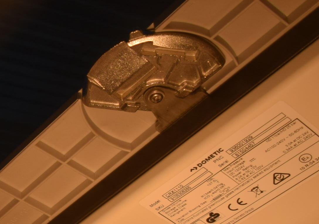 Detalhe do sistema Lock-vent