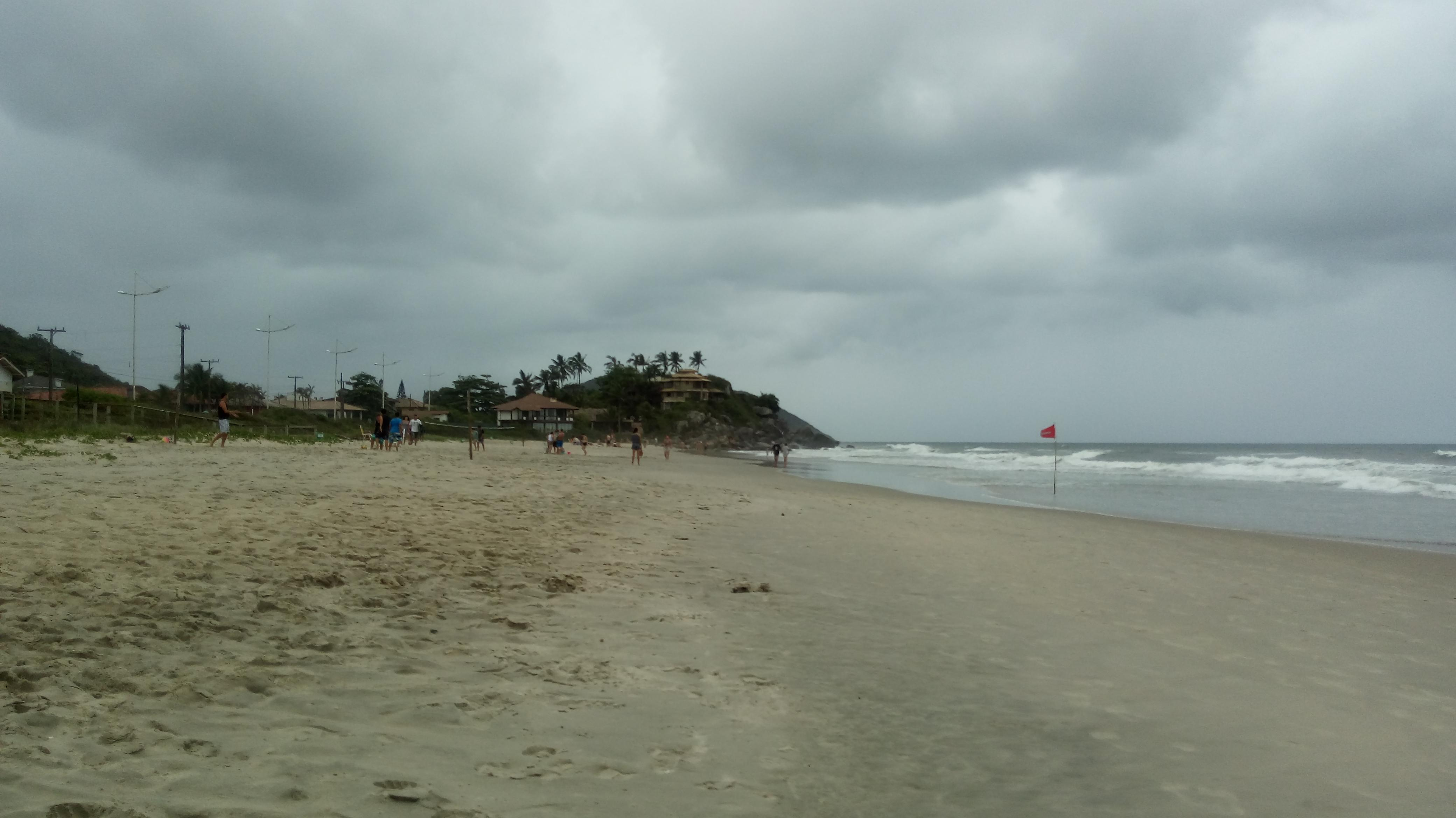 Praia de Ubatuba.
