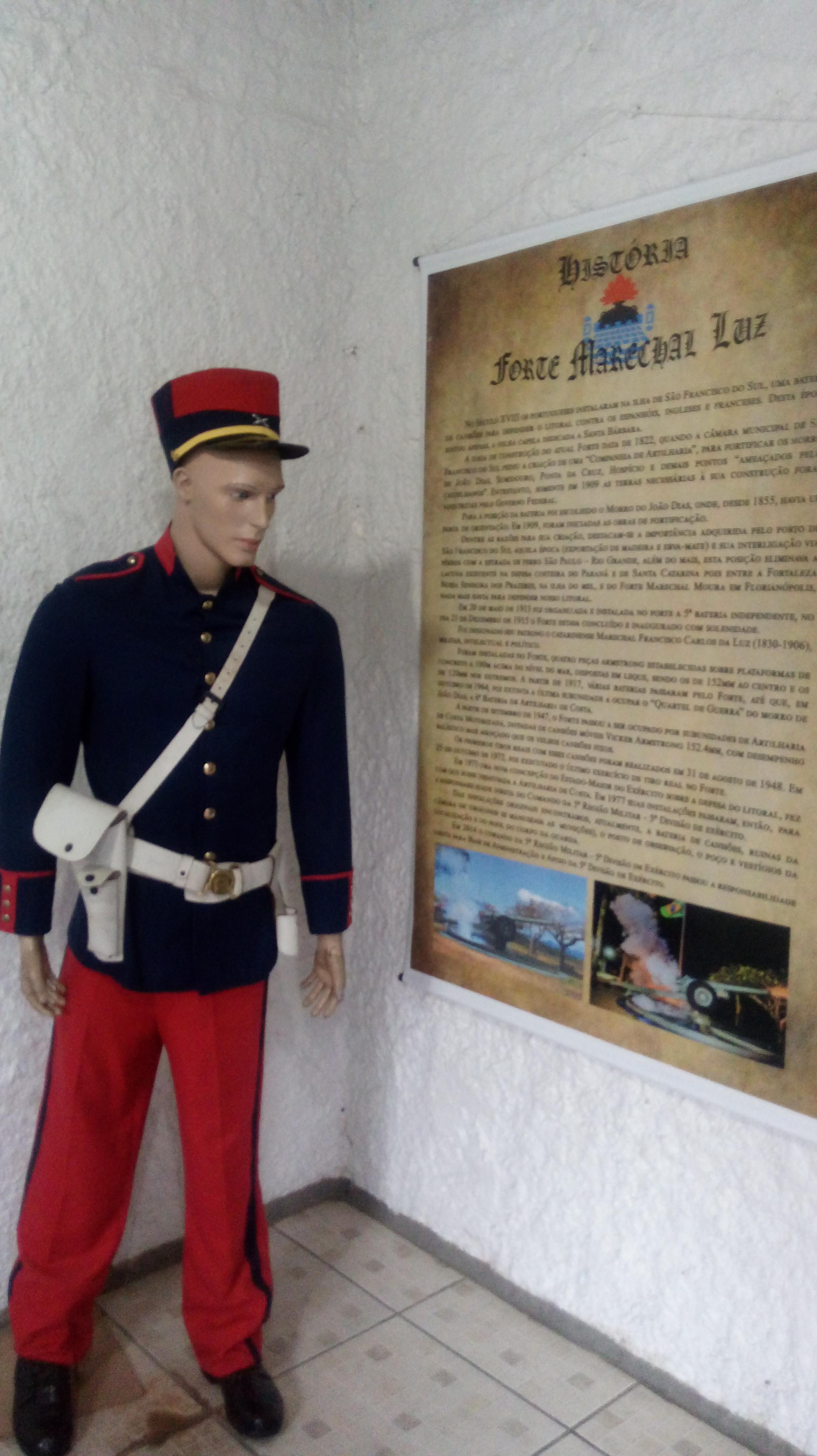 Museu do forte.