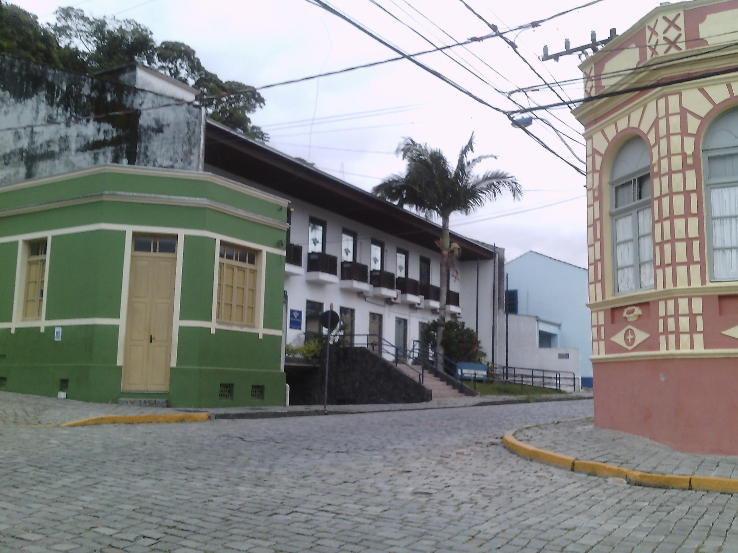 A beleza do casario de São Chico.