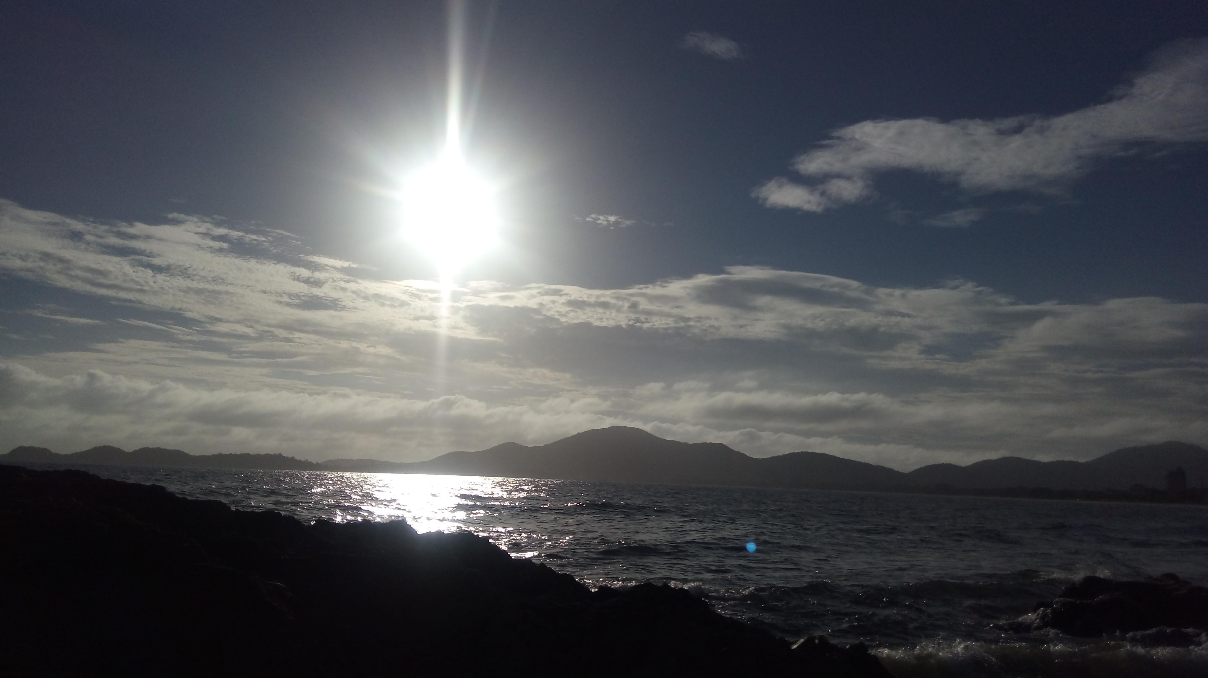Mais uma do amanhecer da Praia da Armação.